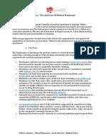 Pro and Cons Medical Marijuana