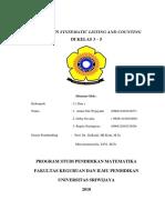 Laporan Matdis Systematic Listing and Counting Kelas 3-5 Simulasi
