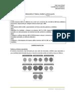 Guía de Matemática 2º Básico Unidad 1, Primera Parte