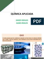 Química Aplicada-gases Reales FIC