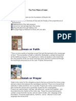 The Five Pillars Islam 1