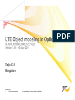 LTE Modelling in Optimizer