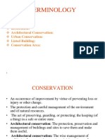 Conservation Definitions