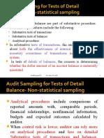 Ch1 part 2 Audit Sampling for tests of details of balance.pptx