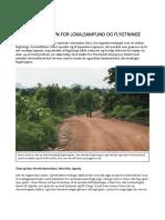 IAS l Omugu l Artikel l Udvikling til gavn for flygtninge og lokale