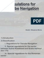 Regulations for Danube Navigation