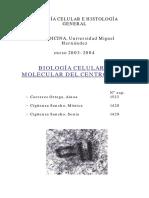 Internet - Biologia Celular y Molecular Del Centrosoma - Protomedicos.com