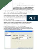 Diacritice Pe Web Folosind PHP
