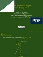 Limite Introducao Definicao Formal