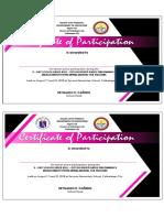 Certificate RPMS