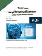 aluminium found in dead autistic people