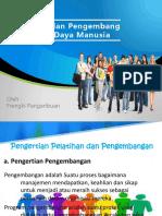 Bab 7 Pelatihan dan Pengembangan sdm revisi.ppt