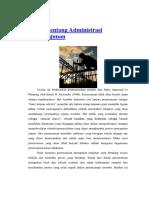 Artikel Tentang Administrasi Pembangunan Fattah
