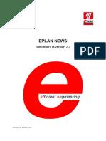 News Eplan 2.2.5 Be Fr