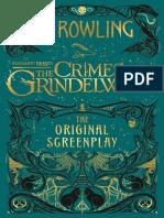 Fantastic Beasts _The Crimes of Grindelwald - J. K. Rowling