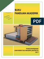 Buku Panduan Akademik Pascasarjana UNJ 2017
