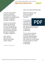 Enxugue as Lágrimas (Liberta-me, Brasil) - Mariana Ava (Impressão)