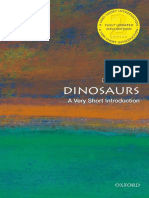 Dinosaurs a Very Short Introduction Very Short Introductions 2nd Edition