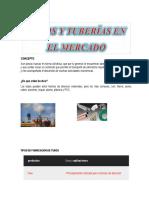 TUBERIAS EN EL MERCADO