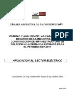 6.4 Energía Eléctrica - Estudio de Las Capacidades y Desafíos