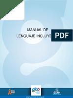 Manual de Lenguaje Incluyente Completo IMUG