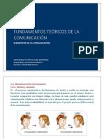 1.4. Elementos de La Comunicacion