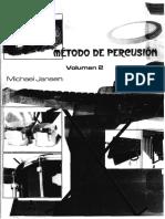 Método de Percusión Vol. 2 M. Jansen