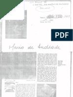 Cartas Mario de Andrade