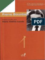 BOURDIEU, Pierre - Entrevista