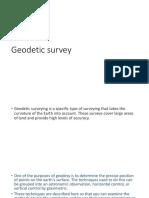 Gepdetic Survey