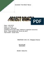 Proiect Bursa de Valori