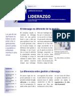 Liderazgo y Administracion de Hospitales.