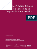 GPC Depresion Adulto RESUMEN