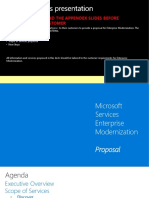 Enterprise Modernization Customer Proposal Deck_Partner