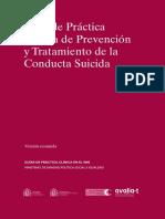 GPC Conducta Suicida RESUMEN