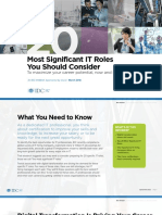 20 Most Significant IT Roles