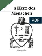 Herzbüchlein von Goßner