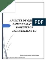 Apuntes de Gestión Ambiental Para Ingenieros Industriales