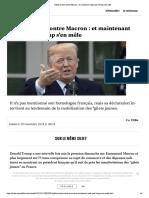 Gilets Jaunes Contre Macron