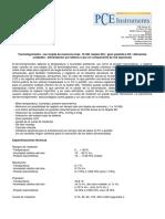 Hoja de datos PCE-THB-40