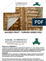SAMRIOGLU - Turkish Dried Figs - Processing Stages