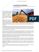 Santa Cruz Puntal Económico de Bolivia