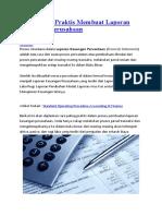 Cara Paling Praktis Membuat Laporan Keuangan Perusahaan