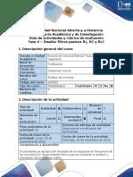 Guía de Actividades y Rúbrica de Evaluación - Fase 4 - Diseñar Filtros Pasivos RL, RC y RLC