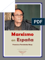 Marxismo en España - Francisco Fernández Buey