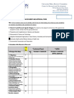 131Protocol Assessment and Approval Form