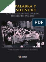 Libro. La Palabra y El Silencio
