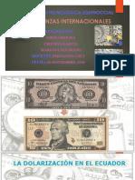 Dolarizacion en Ecuador