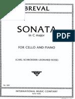 Breval - Sonata in Do Magg