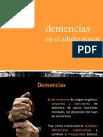 Demencia en Al Adulto Mayor